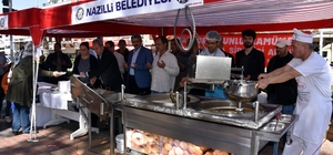 Nazilli Belediyesi, Yazıcıoğlu ve arkadaşları için lokma döktürüp mevlit okuttu