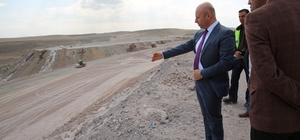 Başkan Çolakbayrakdar, Erkilet'de yapılan yolu inceledi