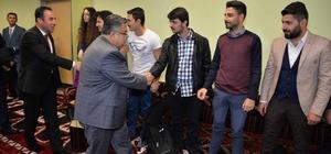 Başkan Yağcı öğrencilerle bir araya geldi