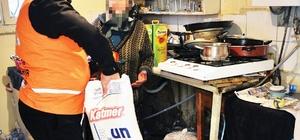 Ankara Büyükşehir Belediyesi'nin ihtiyaç sahiplerine yardımları sürüyor