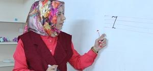Adıyaman'da Suriyeli çocuklara Türkçe eğitim veriliyor