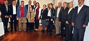 CHP Germencik ilçe yönetiminden Çerçioğlu'na ziyaret