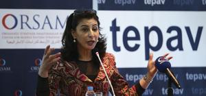 """""""Yeni Uluslararası Düzende Ortadoğu Barış Süreci"""" Paneli"""