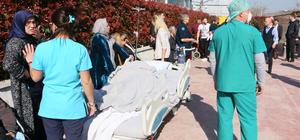 Yalova'da hastanede yangın