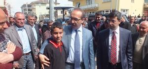 Vali Yavuz'dan esnaf ziyareti