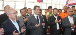 Mardin'de sağlık kurumları arası futbol turnuvası düzenlendi