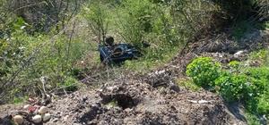 Bartın'da tarım aracı devrildi: 5 yaralı