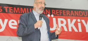 """""""15 Temmuz'dan Referanduma Yeni Türkiye"""" konferansı"""
