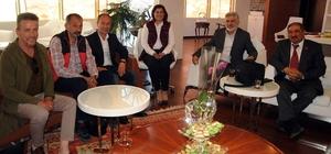 Didimli çalışan gazeteciler Çerçioğlu'nu ziyaret etti