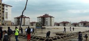 Erciş sahil kent semt pazarı temeli atıldı