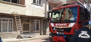 Fatsa'da korkutan yangın