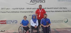 Bağcılarlı atletler Dubai'den madalyalarla döndü