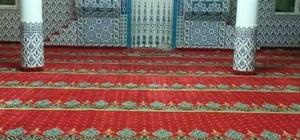Tuzla Belediyesinden Saray'daki camiye halı
