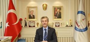 Başkan Tahmazoğlu'ndan regaib kutlaması