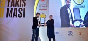 Zeytinburnu Gösteri Sanatları'na kısa film ödülü