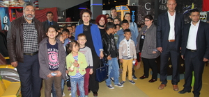 Roman öğrenciler mahalleleri dışındaki Edirne'yi keşfediyor
