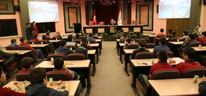 İmam Hatip Lisesi öğrencileri Melikgazi'de