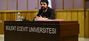 Yazar Kaan Murat Yanık BEÜ'de söyleşi gerçekleştirdi
