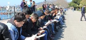 Kdz. Ereğli'de 700 kişi birlikte kitap okudu
