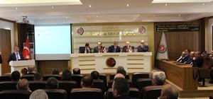 TSO'da vekiller yeni anayasa değişikliğini anlattı