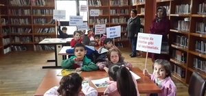 İncirliova'da miniklere okumanın önemi anlatıldı