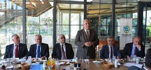 Başkan Albayrak 3. yılda Çorlulu basın mensuplarıyla buluştu