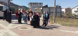 Osmaneli'nde Ak Partili kadınlar referandum çalışmaları