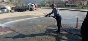 Vezirhan Beldesinde bahar temizliği başladı