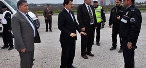 Başsavcı Yeldan'dan uygulama yapan polise ziyaret