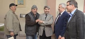 Başkan Baran ve Milletvekili Şeker, 'Evet' için destek istedi