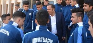 Dilovası U-17 futbol takımı Türkiye Şampiyonası için yola çıktı