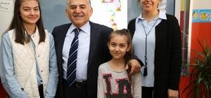 Başkan Memduh Büyükkılıç'ın teşekkür ziyareti