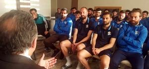 Genel Sekreter Yalçın'dan Belediyespor'un yeni yönetimine ziyaret