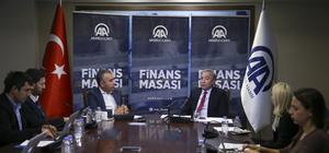 Hamdi Akın AA Finans Masası'nın konuğu oldu (1)