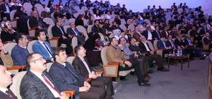 Yavilioğlu 25'inci konferansını Erzurum'da gerçekleştirdi