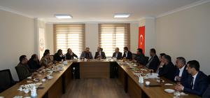 Maliye Bakan Yardımcısı Yavilioğlu, iş adamlarıyla buluştu