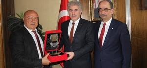 Türk Kızılayı Bayburt şubesinden Başkan Memiş'e ziyaret
