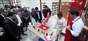 Ağrı İbrahim Çeçen Üniversitesi'nde Kütüphane Haftası etkinlikleri