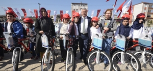 Körfez'de 622 öğrenci bisikletine kavuştu