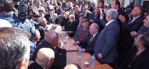 Kars eski Milletvekili Güner, Kağızman'da