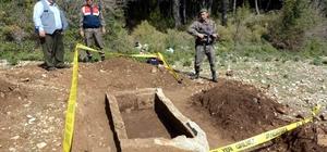Muğla'da antik döneme ait mezar bulundu