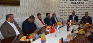 BİLSAM'dan MÜSİAD'a 'hayırlı olsun' ziyareti