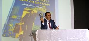 Yazar Abdullah Ayata AGÜ'ye konuk oldu