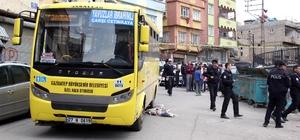 Gaziantep'te halk otobüsünün çarptığı çocuk öldü