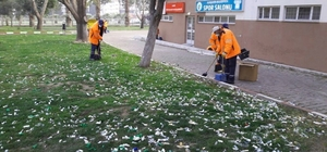 Alaşehir Belediyesi temiz bir çevre için çalışıyor