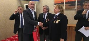 Başkan Karaman ilçede yaşayan gazilerle yemekte buluştu