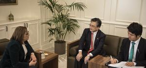 Japonya'nın Ankara Büyükelçisi Oka Gaziantep'te