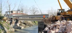 Büyükşehir Çaybaşı'na iki köprü yapıyor