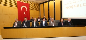 SATSO Mart ayı olağan meclis toplantısı gerçekleştirildi