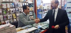 AK Parti Beyoğlu İlçe Başkanı Muş, esnafa referandum sürecini anlattı